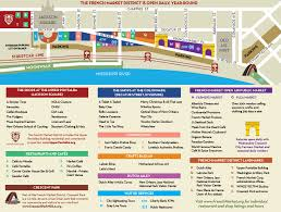 Bourbon Street New Orleans Map by French Market Directions U0026 Parkingfrench Market