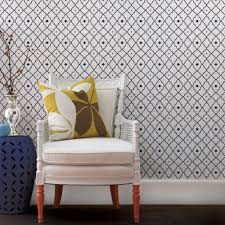moroccan star wallpaper navy peel and stick
