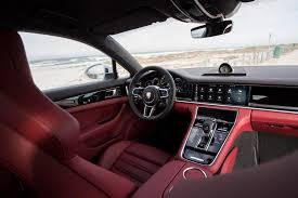 first drive porsche panamera hybrid automobile magazine interior