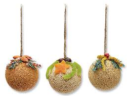festive bird seed ornaments seed ornaments orvis