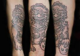 japanese foo dog tattoo designs top fu dog chest tattoo designs