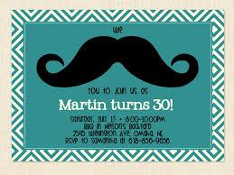 men u0027s birthday invitation mustache printable by busychickadees