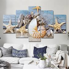 drop shipping home decor beach canvas pictures promotion shop for promotional beach canvas
