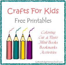 crafts for kids coloring mini books bookmarks and more free