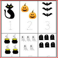 halloween number activities for preschoolers kristal project
