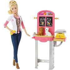 barbie careers play set pet vet walmart com