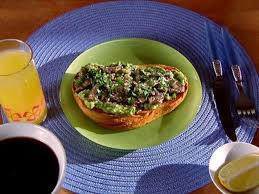 sherried sardine toast recipe alton brown food network