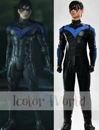 Korra Halloween Costume Aliexpress Buy Deluxe Batman Arkham Nightwing