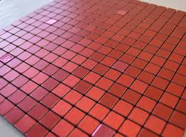kitchen style flexipixtile sample aluminum mosaic tile peel stick