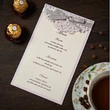 Wedding Invitations With Menu Cards Lavender Wedding Invitations Promotion Shop For Promotional
