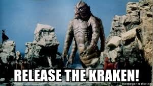Release The Kraken Meme - release the kraken meme generator carolina panthers said to