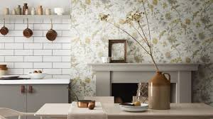 best paint for vinyl kitchen cabinets uk how to choose wallpaper for your kitchen kitchen magazine
