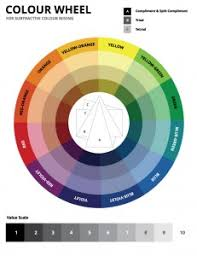 free printable color wheel u0026 value scale web design pinterest