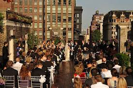 Small Wedding Venues In Nj Nyc Wedding Venue With Rooftop Garden On 5th Avenue Midtown Loft