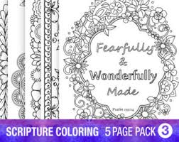 5 bible verse coloring pages inspiration quotes diy christian