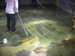 Basement Floor Covering Cleaning And Paint Concrete Basement Floor Flooring Ideas