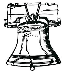 fancy liberty bell coloring 61 drawings liberty