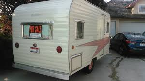 1958 leit coastline travel trailer for sale