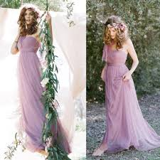 fs1626 bride purple bridesmaid dress long section group dinner