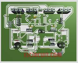 layout pcb inverter 500w power amplifier 2sc2922 2sa1216 with pcb layout design