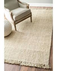 Beige Runner Rug Big Deal On Nuloom Handmade Eco Fiber Chunky Loop Jute