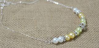 make beaded chain necklace images Beader garden how to make chain necklace with pearl and jpg
