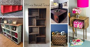 hometalk how to build bedroom storage towers 26 best diy wood crate projects and ideas for 2018