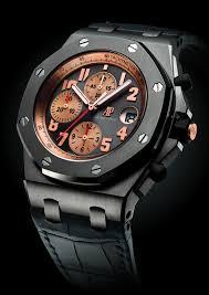 audemars piguet creates special royal oak offshore chronograph for