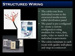 structured wiring a common concept for wiring a new home wiring