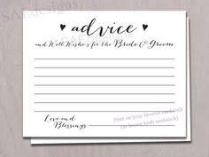 my advice for the and groom cards 10 free bridal advice card templates visit www freetemplateideas