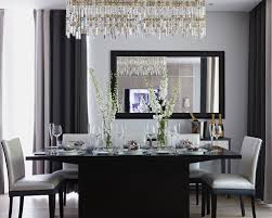 Dining Room Crystal Lighting Transitional Alluring Chandeliers U - Dining room crystal chandelier