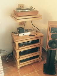 Diy Audio Equipment Rack Hey I Made A Hi Fi Rack John Risby
