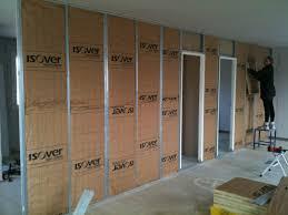 isolation plafond chambre isolation plafond garage sous sol 12 cloison placo couloir et