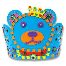 aliexpress com buy random delivered 3d eva handmade crown