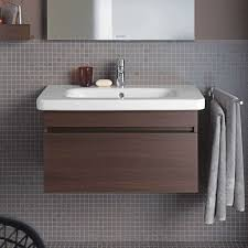Duravit Sinks And Vanities by Durastyle Wall Mounted Vanity Base Single Drawer By Duravit Yliving