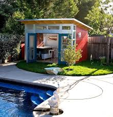 Backyard Getaways It Was Just A Normal Tiny Garden Shed Until She Transformed It
