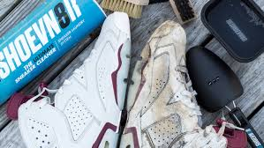 how to deep clean how to deep clean jordan maroon 6 s with reshoevn8r youtube