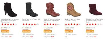 kmart s boots on sale kmart boots start at just 4 99 thrifty nw