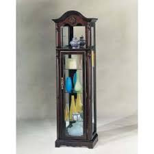 Antique Curio Cabinet With Clock City Liquidators Furniture Warehouse Home Decor Curio Cabinets