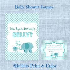 guess how big is mommy u0027s belly printable baby shower game baby