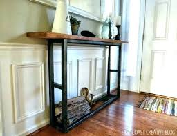 Narrow Entry Table Console Table Console Table Entryway Narrow