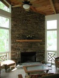 Screen Porch Fireplace by Screened In Porch Ideas Outdoor Fireplace Integrated Into
