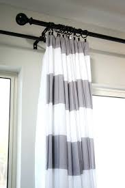Black And White Stripe Curtains Black And White Ticking Curtains Large Size Of Coffee Blue And