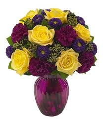Purple Carnations Enchanting Moments Bouquet At From You Flowers