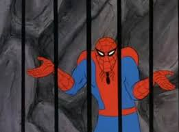 Spiderman Meme Generator - spiderman jail blank template imgflip
