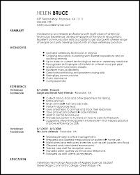 veterinary technician resume exles vet tech resume sle veterinary technician 9 template ideal