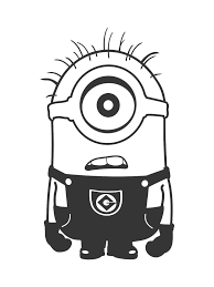 9 eyed minion coloring pages cartoons printable coloring pages