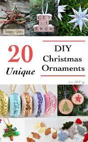 20 unique diy ornaments anika s diy