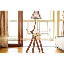 color fabric soft kids floor lamps with one light