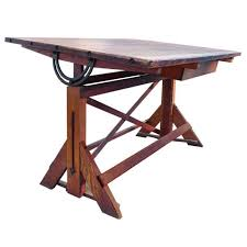 Drafting Table And Desk 1920 S Architects Drafting Table Desk At 1stdibs